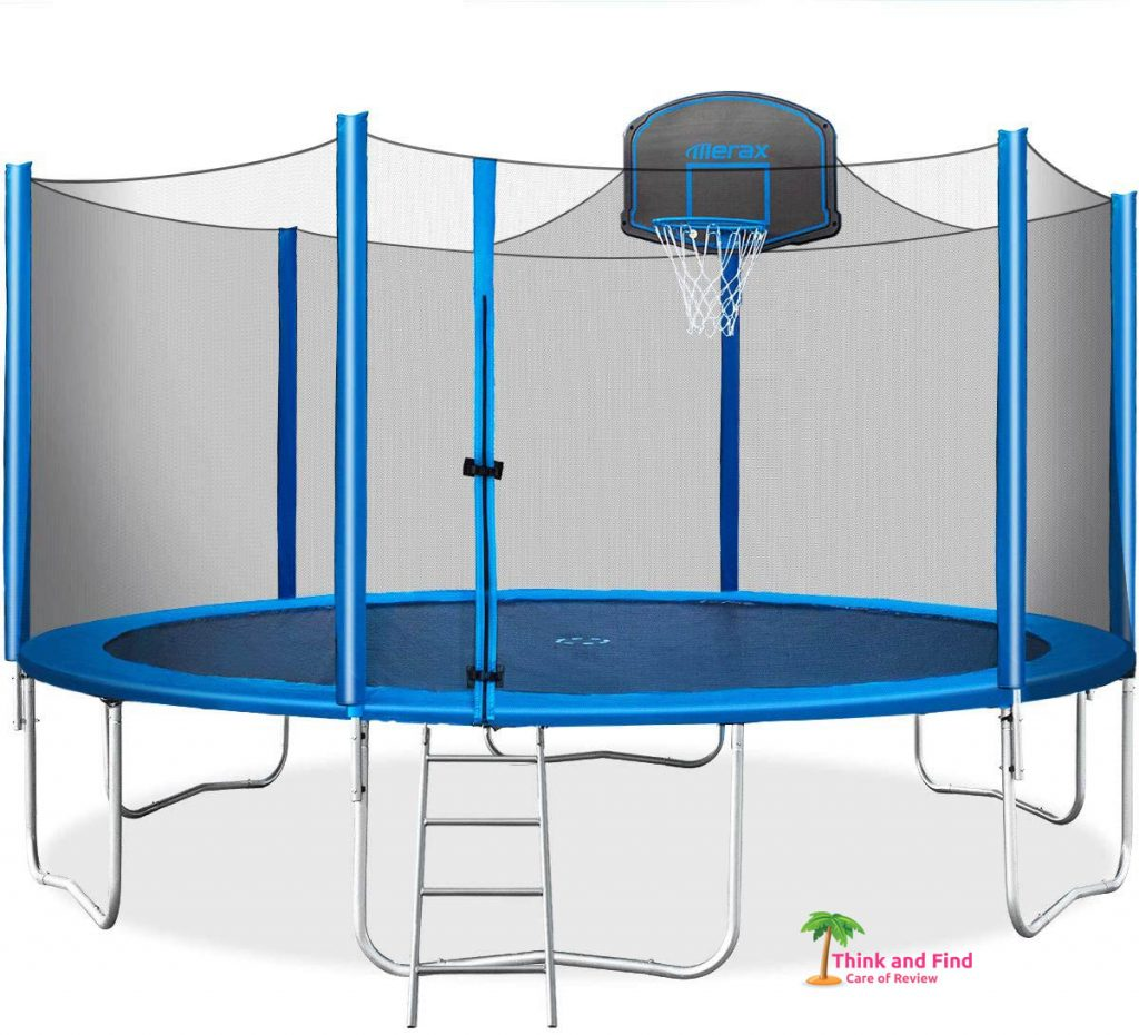 1 Best trampolines for kids review - think and find