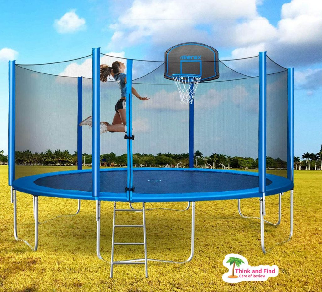 best trampolines for kids review - think and find