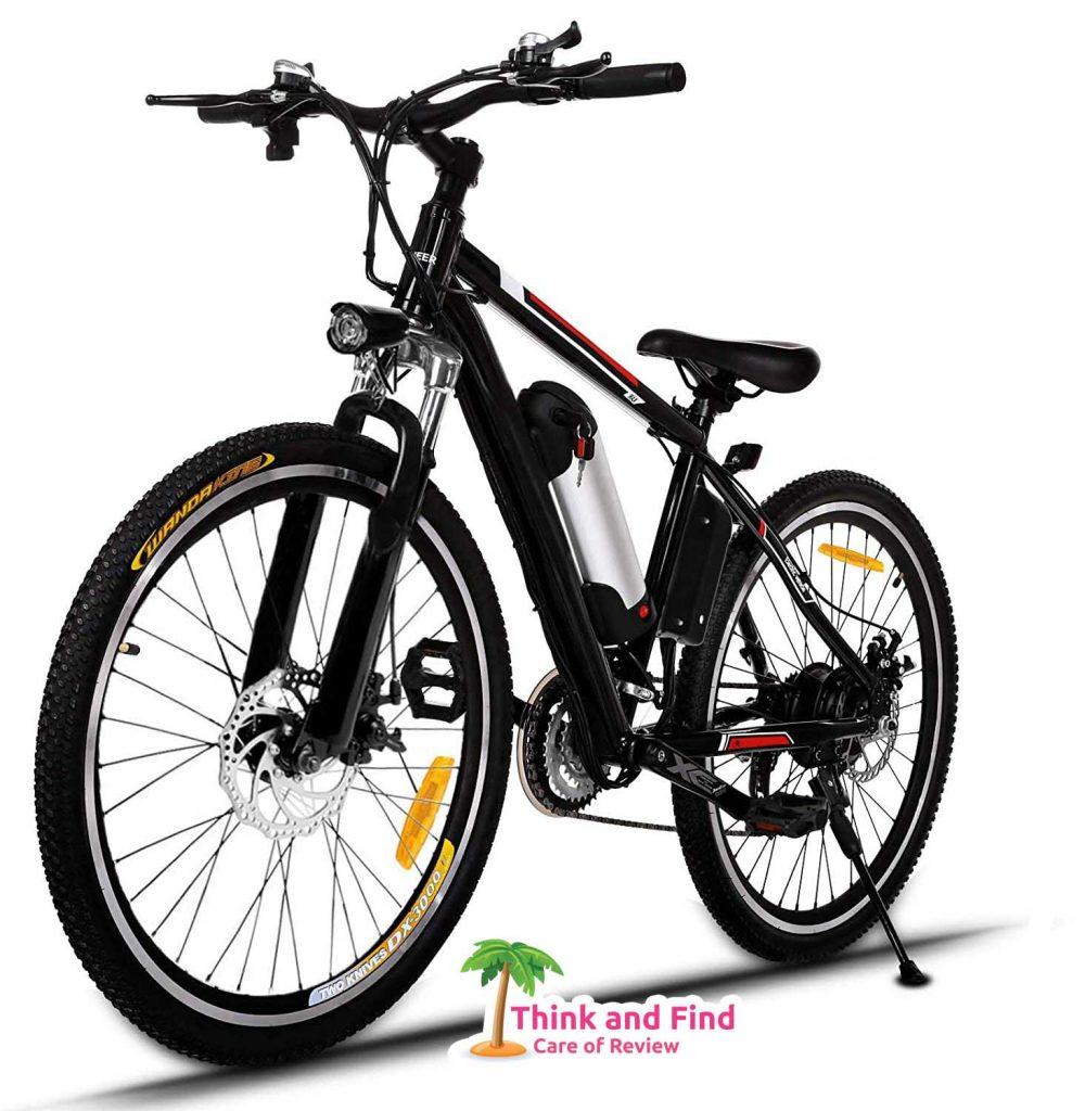 Aceshin Electric Mountain Bike - best electric bike under 1000