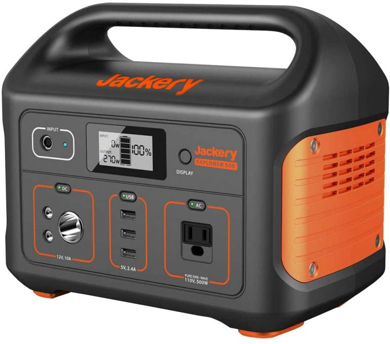 Jackery portable power station explorer 500 - think and find