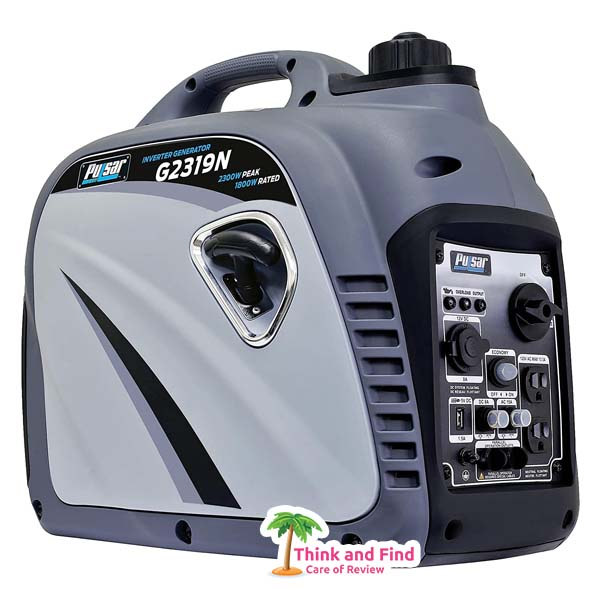 Pulsar G2319N 2,300W Portable Gas-Powered Inverter Generator think and find