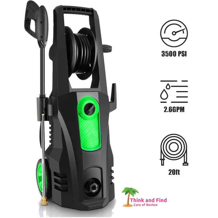 best pressure washers for home use -TEANDE 3500 PSI Electric Pressure Washer