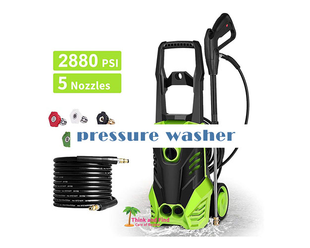 best pressure washer for home uses 2021