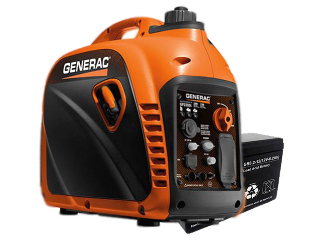 How does an inverter generator work