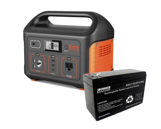 Portable power station battery life