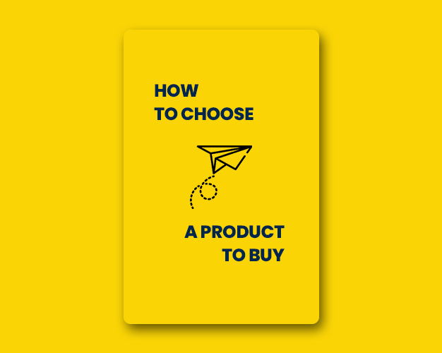 how to choose a product to buy
