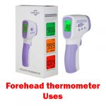 How to use forehead thermometer