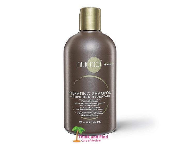 NIUCOCO Anti Dandruff Natural Hydrating Shampoo