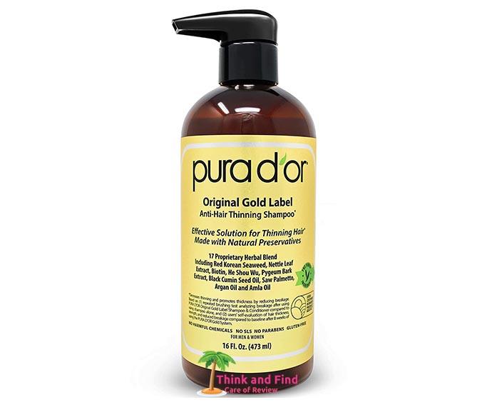 PURA DOR Original Gold Label Anti-Thinning Biotin Shampoo