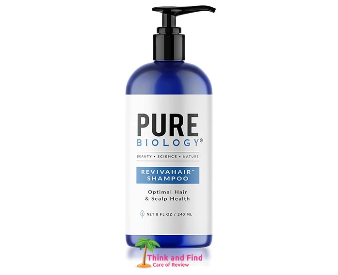 Pure Biology Premium RevivaHair Hair Growth Shampoo