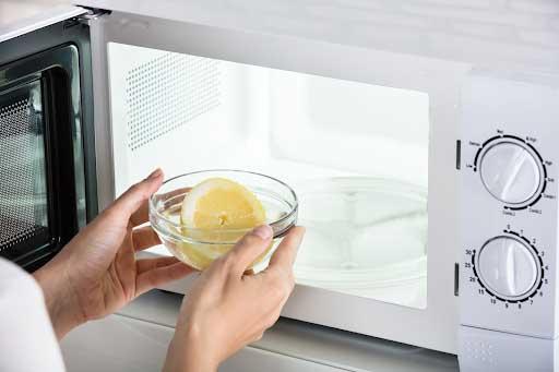 lemon in oven