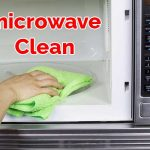 microwave clean proccess