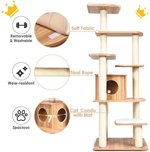 cat tree details