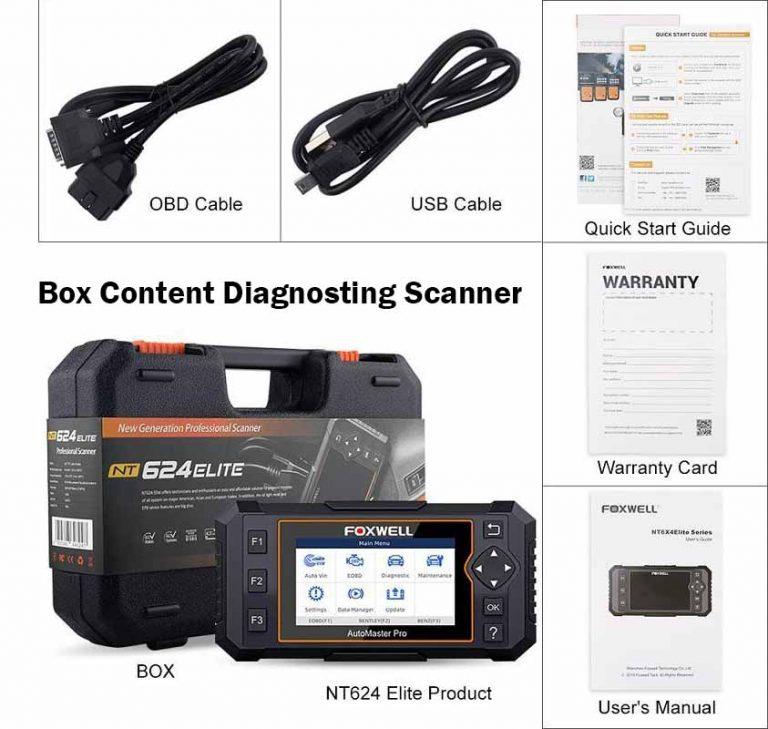 box content diagnosting scanner